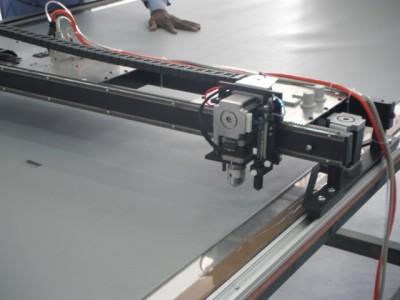 PT-60 Plotter/Cutter installed