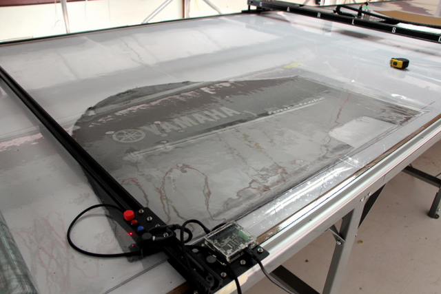 Covering a pattern with a thin mil plastic, urethane, or piece of plexi-glass with help it from shifting and save you from having to tape the corners of an aging pattern.