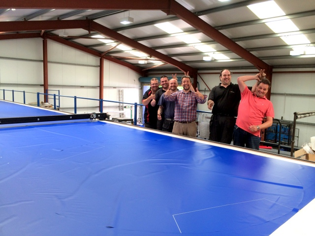 That's more like it!  Ulster PVC has a lean, but dedicated team, with most of their guys having worked there for over a decade.  Gary's Uncle started the business in 1969 - which means there is a lot of PVC cover experience under their roof!