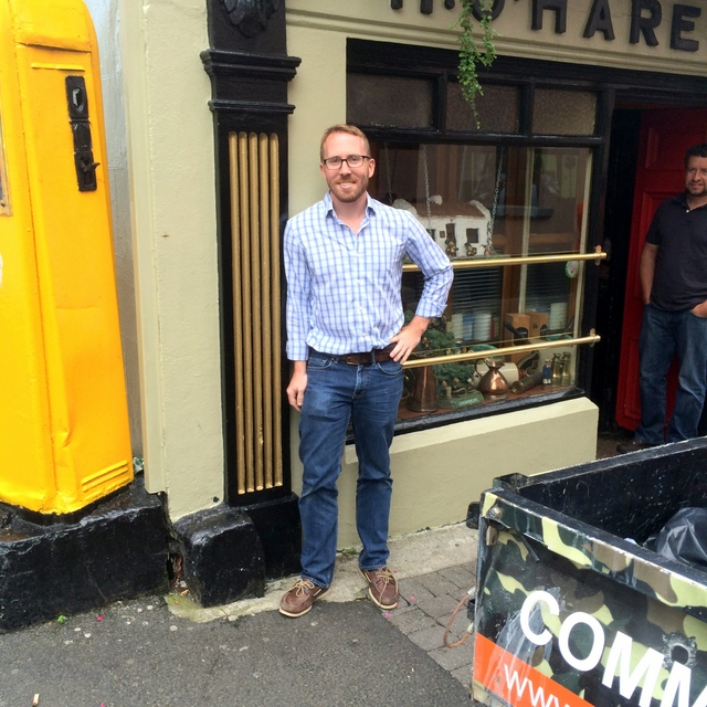 Tom get's a tour of a Ireland.