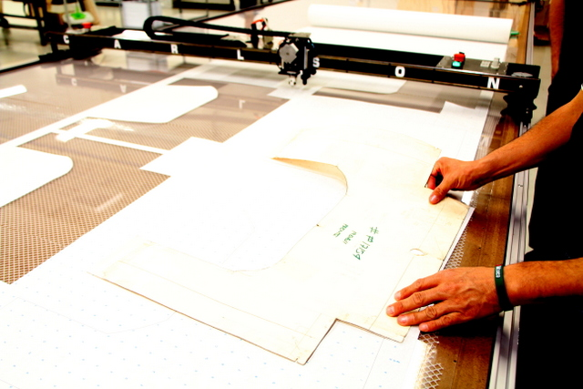 Checking the results.  Digitized patterns are often straighter and more square than the original -- since you can easily create a straight line by recording only two points.  The operator will quickly learn how to create the best digitized pattern with the least amount of points.