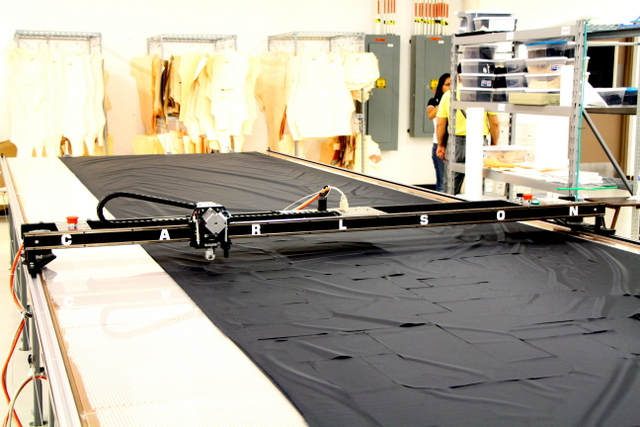 """At 84"""" wide, the PT-84"""" Plotter/Cutter can plot/cut up to 74"""" wide material."""