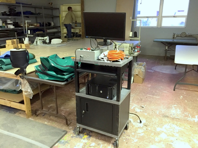 They opened and started assembling their operator's workstation.  Simple and detailed instructions help.