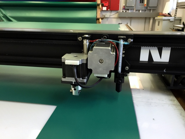 Cutting with our multi-tool low profile head.