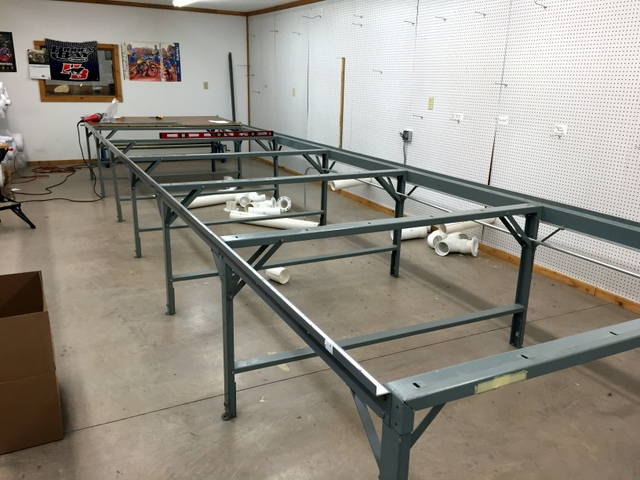 We were able to utilize their existing Phillocraft steel frame, replacing their static tops for vacuum tops.