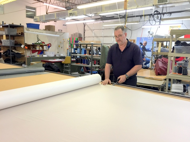 Jim:  Expert Plotter/Cutter operator of 17 years -- loves the new improvements.